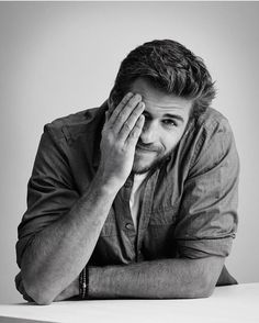He. Liam Hemsworth. Anything else...