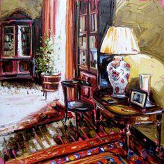 One day like this 60x60cm oil on canvas Roisin O'Farrell.com