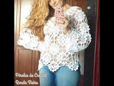 Blusa Maria Flor PARTE 1 Renata Vieira - YouTube