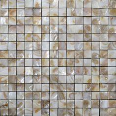Natural Shell Tiles Sheet Iridescence Mother of Pearl Tile Backsplash Kitchen Design Seashell Mosaic Tile Bathroom Floor Ceramic Mosaic Tile, Stone Mosaic Tile, Mosaic Glass, Coloured Grout, Kitchen Backsplash, Mosaic Backsplash, Tile Projects, Crackle Glass, Sea Shells