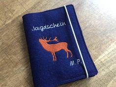 Etuis & Täschchen - Etui für Jäger - Umschlag für Jagdschein - ein Designerstück von JuniEngel- bei DaWanda