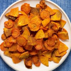 carrot and sweet potato oven fries recipe