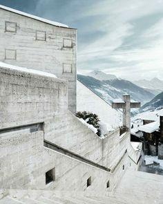 Walter Förderer's Holy Cross Church in Chur, Switzerland, 1966-1969