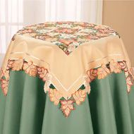 Mixed Fall Leaves Table Linens - 35593