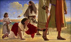 """""""If I just touch the hem of His garment I shall be healed."""""""