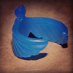 Swallow ring hand carved from wax...♡