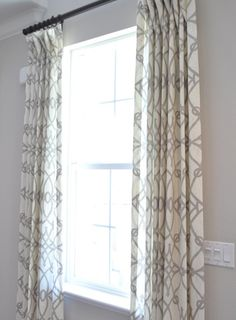 braemore fioretto in graphite - family room curtains? Family Room Curtains, Bedroom Curtains, Hm Deco, Living Spaces, Living Room, My New Room, Home And Living, Decoration, Room Inspiration