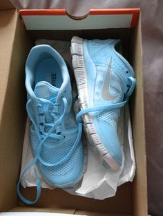 Carolina blue Nikes.