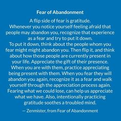 Fear of Abandonment A flip side of fear is. Mental And Emotional Health, Emotional Healing, Mental Health Awareness, Abandonment Quotes, Codependency Recovery, Relationship Therapy, Therapy Worksheets, Healing Quotes, Self Improvement Tips