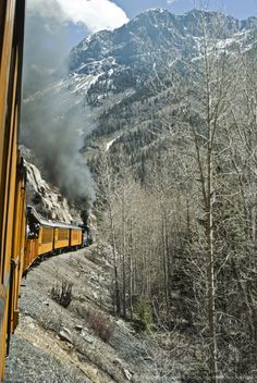 Historic Durango & Silverton train, San Juan National Forest, Colorado