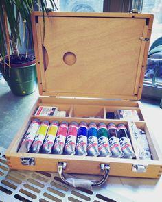 Acrylic Colour Box - Van Gogh #malovanikresleni #prague www.malovanikresleni.cz