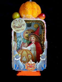 Halloween Altered Tin