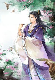 carol婧影沉璧采集到古典CG(1579图)_花瓣插画/漫画
