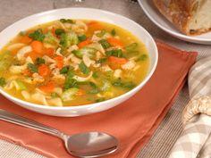 Supa Taraneasca cu taitei