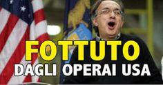 L'ATTIVISTA A 5 STELLE: FOTTUTO MARCHIONNE! NEGLI USA IL SINDACATO E' SERI...