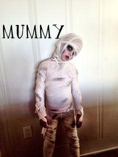 DIY Kids Costumes - Mummy