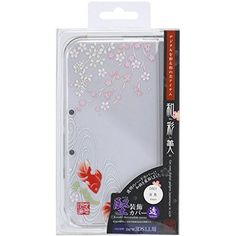 "cool GAMETECH new3DS XL -WaSaBi- Clear Crystal Cover ""Goldfish""  Product Features  ・GAME TECH is a popular manufacturer of video-game accessory in Japan. ・Decorate your digital devices beautifully and brightly w... http://gameclone.com.au/accessories/cases-protectors/gametech-new3ds-xl-wasabi-clear-crystal-cover-goldfish/"