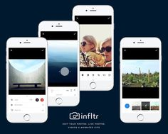 infltr: The First iPhone App to Edit Photos, Live Photos, Videos, and Animated GIFs