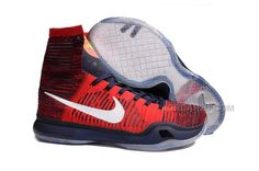 best sneakers 31b76 78899 The cheap Authentic Nike Kobe 10 Elite  American  University  Red Obsidian Bright Crimson Shoes factory store are awesome pair of shoes  but it seems the ...