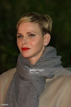 Princess Charlene of Monaco attends the Sainte-Devote ceremony on January 26, 2015 in Monaco, Monaco. Sainte devote is the patron saint of The Principality Of Monaco and France's Mediterranean Corsica island. (Photo by Thierry Orban/Getty Images)