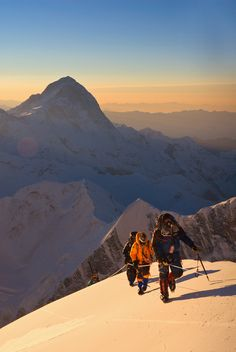 Jimmy Chin, a National Geographic photographer, as well as a climber and a skier, and Conrad Anker share a selection of their photographs