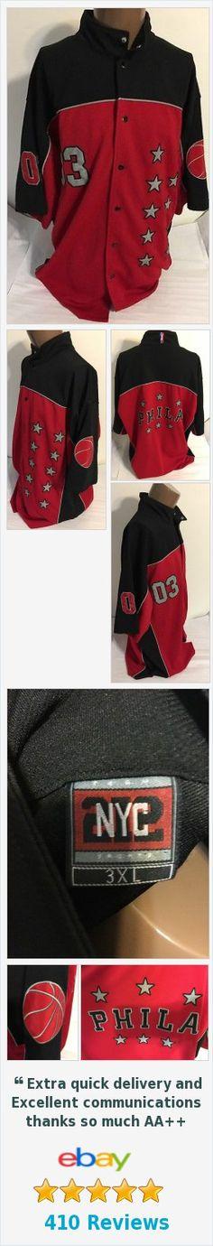 🏀 #Philadelphia 76ers 03 Warm Up Jacket Size 3XL NYC 212 Team Sports https://www.ebay.com/itm/371925014916 @eBay #76ers 🏀 http://www.ebay.com/itm/Philadelphia-76ers-03-Warm-Up-Jacket-Size-3XL-NYC-212-Team-Sports-/371925014916