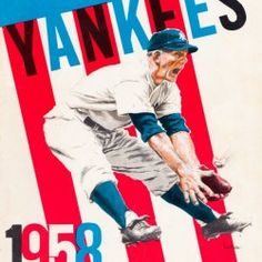 Baseball Posters, Baseball Art, Baseball Gifts, Christmas Gifts For Sports Fans, Sports Gifts, New York Yankees Baseball, New York Giants, Man Cave Wall Art, Cool Fathers Day Gifts