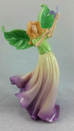 CloudWorks Blossom Angels - Rosey - 2003 Angels & Company Fairy Figurine Resin