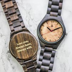 All Wood Watch // All Ebony Maple Burl
