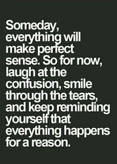 'Someday, … ' °