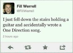 Will Ferrell One Direction Song