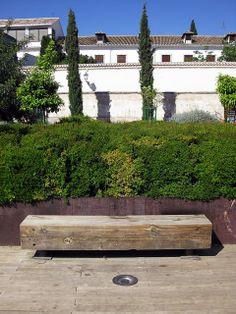 Carlos Ferrater: Jardines del Cuarto Real de Santo Domingo, Granada SPAIN