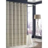 Found it at Wayfair - Mar-A-Lago Stripe Shower Curtain in Cream