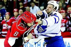 Maple Leafs see role of enforcer growing