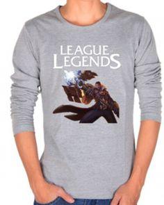 League of Legends t shirt plus size Jayce short sleeve tee for men-