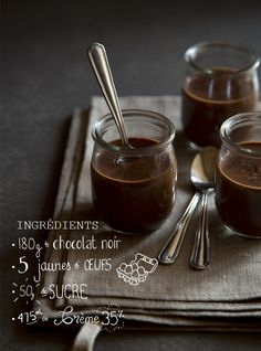 petit pot chocolat ingredients