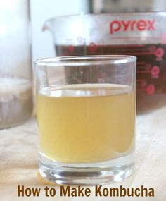 It's simple to make this fermented tea recipe. You can even grow your own mushroom (SCOBY)! Find out how.