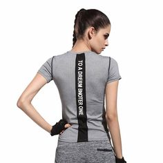 Cheap top selling t shirt, Buy Quality top line t shirts directly from China shirt element Suppliers:     New Design Yoga Shirt Women Running Tank Top For Fitness Sport T shirt Short-sleeved Quick Dry Jogging Cloth Female