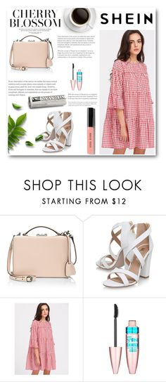 """""""Shein"""" by dajana-miletic ❤ liked on Polyvore featuring Mark Cross, Miss KG, Maybelline and Bobbi Brown Cosmetics"""
