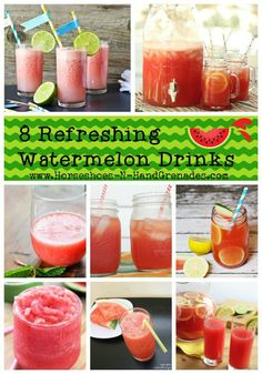 Eight refreshing watermelon drinks to end your summer feeling quenched!