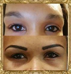 Bushy brows to sleek