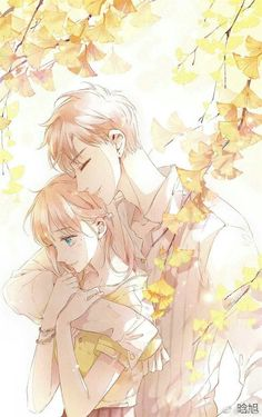 Love Like Cherry Blossoms - Lin lu x Xia Yi Couple Manga, Romantic Anime Couples, Anime Love Couple, Anime Couples Manga, Cute Anime Couples, Manga Anime, Anime Art, Manga Romance, Comics Love
