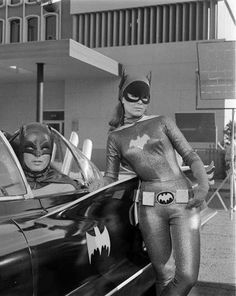 The one and only Batman and Catwoman