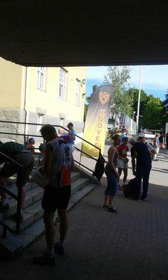 Tampere suunnistus kaupunki sprintti.  Koovee.