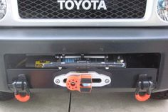 2014 FJ Cruiser with our winch mount and Mean Mother Edge winch. Boy Toys, Toys For Boys, 2014 Fj Cruiser, Winch Mounting Plate, 4x4, Toyota, Motorbikes, Houses