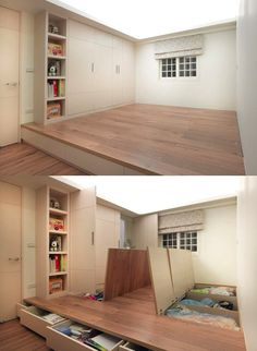 Pictures of home decor for small spaces insanely clever space saving interiors will amaze you amazing fresh living room House Design, House Interior, Home Deco, Home, Small Spaces, House, Interior, New Homes, Storage Solutions Diy