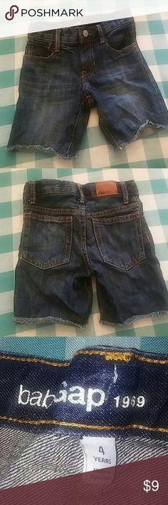 Baby Gap 1969 Jean Shorts Adjustable waist -NWOT- baby gap 1969 cut off shorts Baby Gap Bottoms Shorts