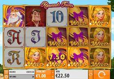 Игровой автомат Rapunzel's Tower с выводом денег  Компания Quickspin выпустила игровой аппарат Rapunzel's Tower, вдохновившись сказкой братьев Гримм. В этом автомате вы будете получать реальные выигрыши, собирая комбинации на 20 линиях. Также вывод денег обеспечат повторные и дополнительные вращения.