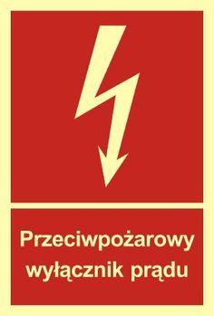 Przeciwpożarowy wyłącznik prądu - sklep www.znaki24.pl