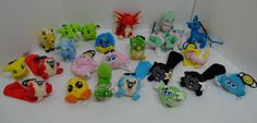 """NEOPETS Ixi Pawkeet Wocky Meerca Kiko Plush McDonalds 2005 Clips 4"""" Huge Lot 24 #MarketingStore http://stores.ebay.com/Lost-Loves-Toy-Chest/_i.html?image2.x=0&image2.y=0&_nkw=neopets"""